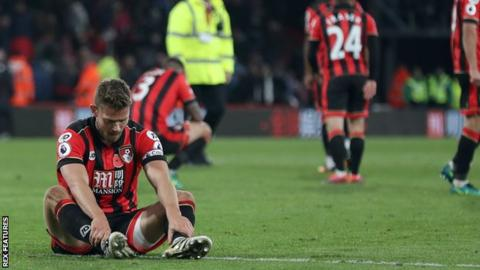 Bournemouth v Sunderland full-time