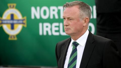 Michael O'Neill looks set to take over at Stoke City
