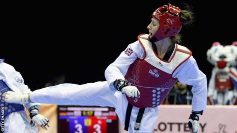 Lauren Williams is a double European Taekwondo champion