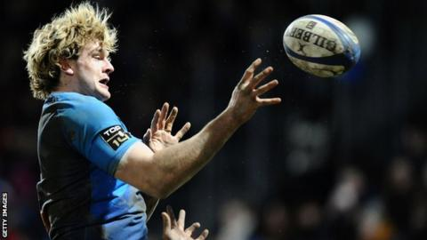 Castres lock Richie Gray