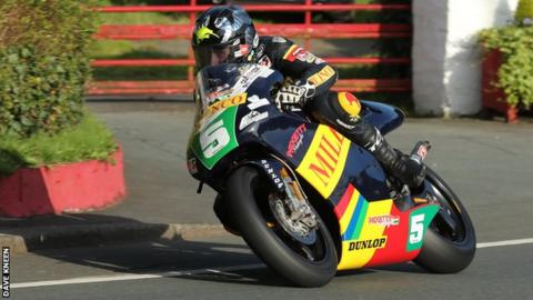 Bruce Anstey: Kiwi tops Classic TT lightweight practice on return to action