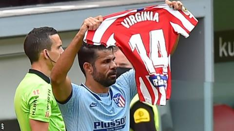Diego Costa scored his first goal since 19 October