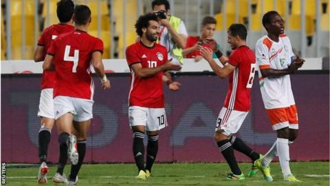 Salah misses two penalties, nets twice, as Egypt trounce Niger