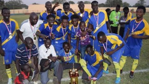 South Sudan champions Atlabara