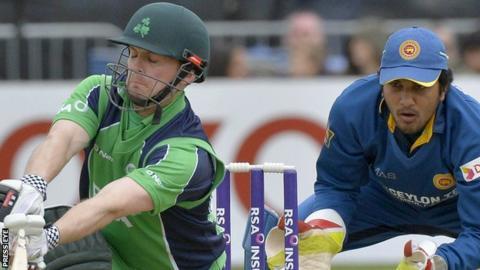 William Porterfield in action against Sri Lanka in 2014