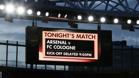 Arsenal scoreboard