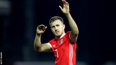 Wales midfielder Will Vaulks