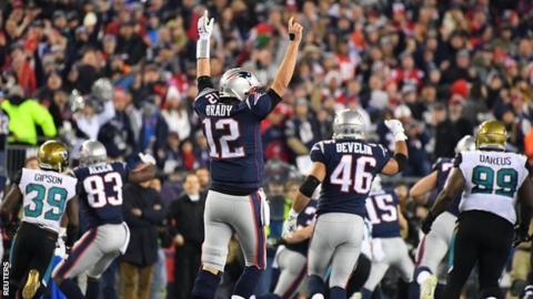 Brady inspires New England to Super Bowl showdown with Philadelphia