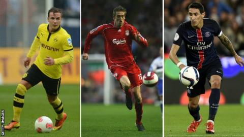 Gotze, Crouch and Di Maria hold Champions League goal landmarks