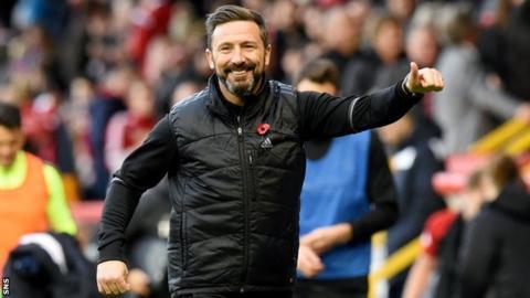 Rangers manager Derek McInnes