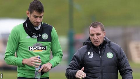 Nir Bitton and Brendan Rodgers