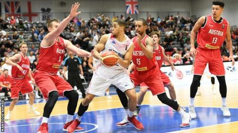 Myles Hesson - GB top scorer who hit 12 of his 18 points in the second half