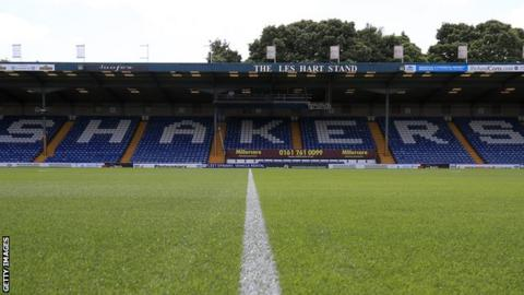 Bury are third in League Two with seven games of the season remaining