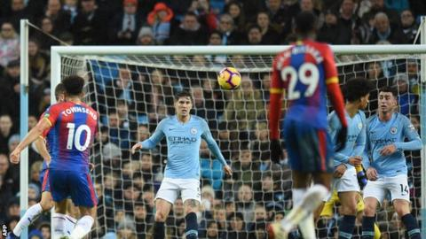 Andros Townsend Goal Reaction To Crystal Palace Wingers Strike Against Man City
