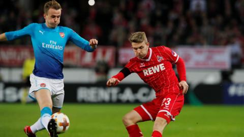Rob Holding and James Horn