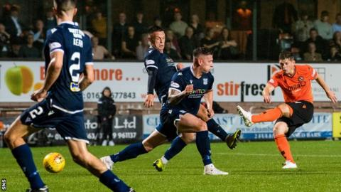 Cammy Smith scored the sixth as Dundee capitulated at Tannadice in August