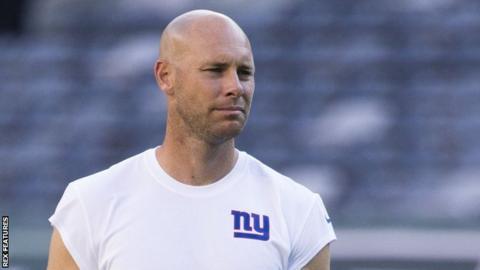 New York Giants' Josh Brown