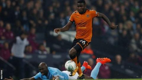 Bright Enobakhare came very close to being the only visiting striker to hit a winner this season at Manchester City's Etihad Stadium