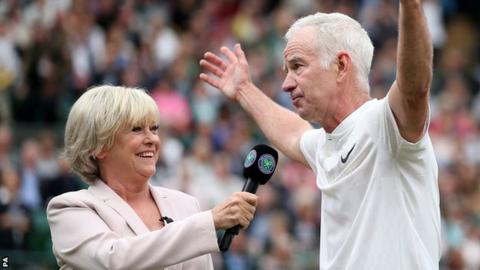 Sue Barker will present a BBC One documentary in honour of three-time Wimbledon champion John McEnroe on 30 June