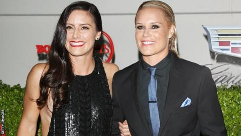 Ali Krieger and Ashlyn Harris