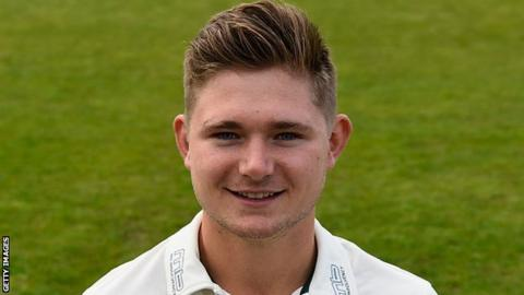 Worcestershire all-rounder George Rhodes