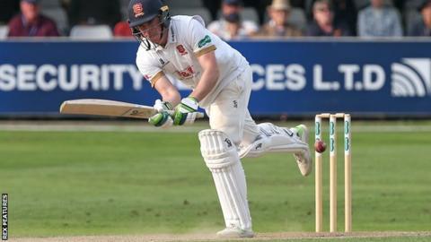 Essex batsman Dan Lawrence