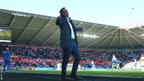 Carlos Carvalhal initially impressed as Swansea manager before results tailed off and relegation followed