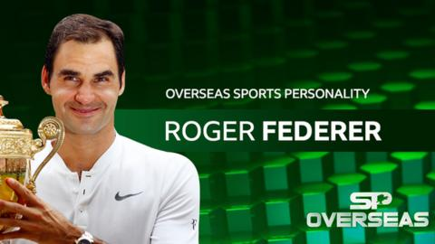 Roger Federer - BBC Overseas Sports Personality