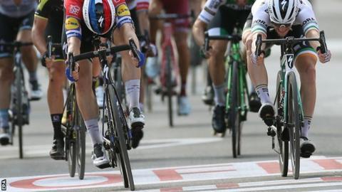Fabio Jakobsen wins stage four at Vuelta a Espana