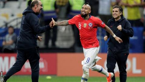 Chile's Copa América run ends with tough loss to old rival