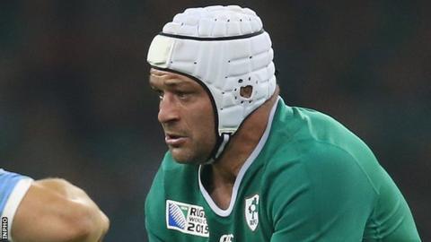 Rory Best of Ireland