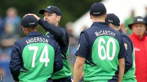 John Anderson and Barry McCarthy are two of skipper William Porterfield's bowling options