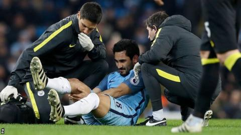 Image result for gundogan injury