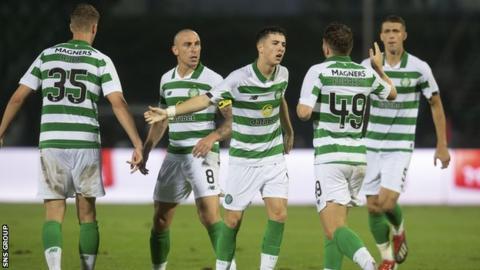 Celtic v Sarajevo: Mikey Johnston misses second leg through injury