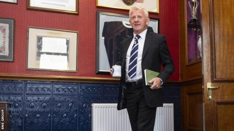Strachan is Dundee's technical director and managed Scotland from 2013-2017