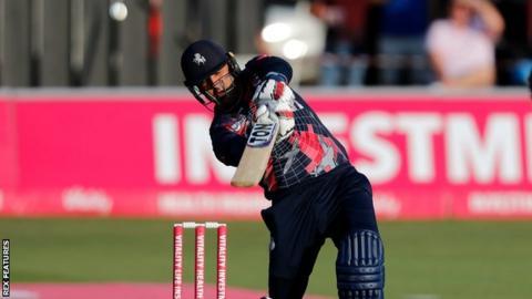 Mohammad Nabi stars in T20 Blast as Kent beat Surrey