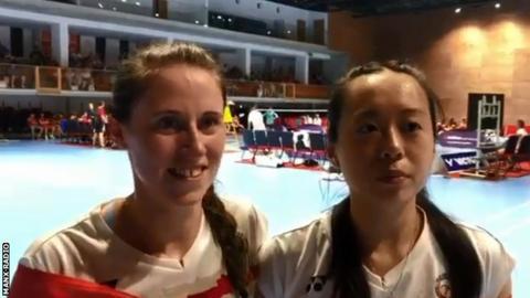 Kim Clague and Jessica Li