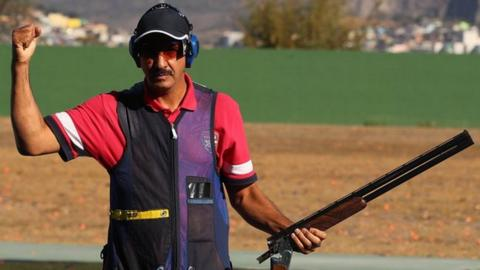 Abdullah Al-Rashidi is a former world champion who was competing in his sixth Olympics