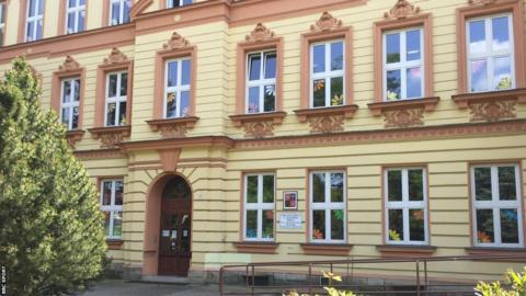 Kvitova's primary school