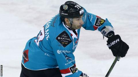 James Desmarais scored the last of Belfast's five goals on Friday night
