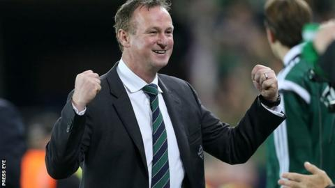 Michael O'Neill has led Northern Ireland to a first major tournament finals since 1986