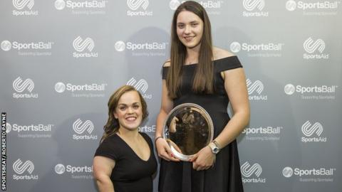 Ellie Simmonds and Holly Dunford