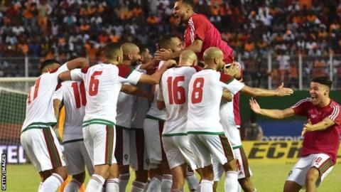 Morocco make a return to the World Cup in 20 years