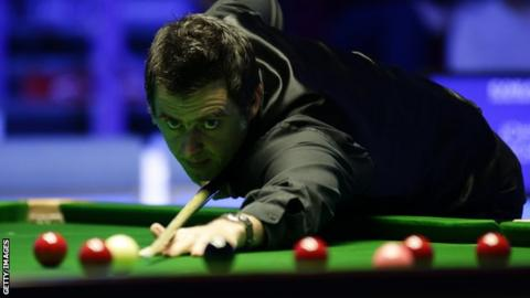 Ronnie O'Sullivan at the Players Championship