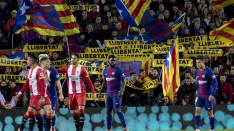 Barcelona v Girona