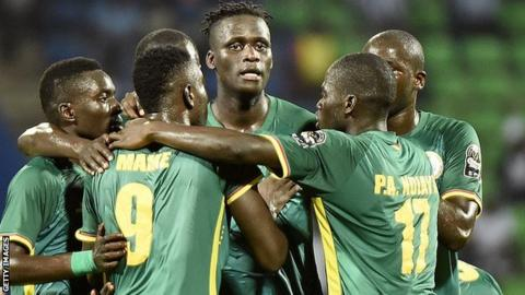 Senegal's players showed togetherness in their performance