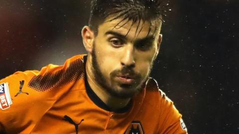 Wolves midfielder Ruben Neves is the EFL's record signing