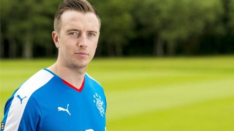 Danny Wilson checks in at Rangers