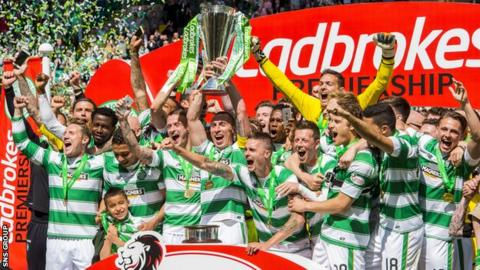 Celtic are the Scottish champions for the fifth year running