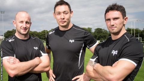Brendon Leonard, Gareth Delve and Kristian Phillips have arrived over the summer